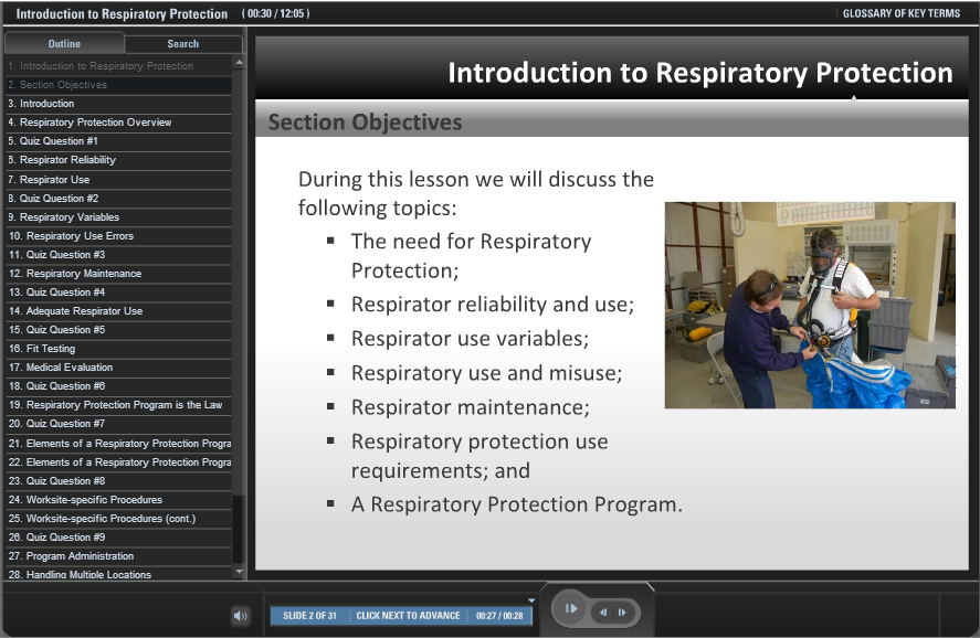 OSHA Respiratory Protection Video