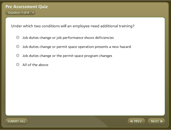 osha review questions Osha 500 post-test please enter your name first name: last name.
