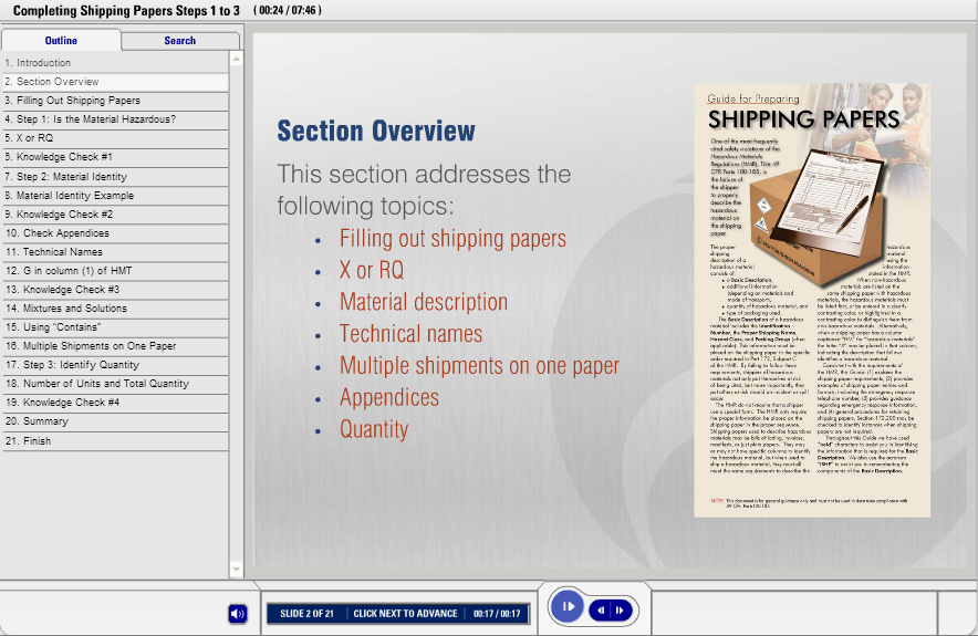shipping-papers-course-slide