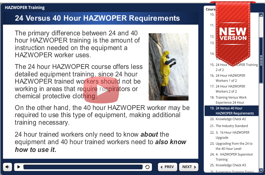 24 hr hazwoper demo