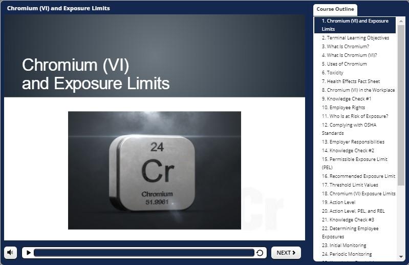 chromium awareness training demo