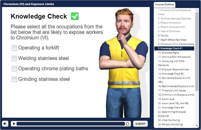chromium awareness training test